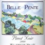 Friday Wine Tasting...Belle Pente 2008 Williamette Valley Pinot Noir