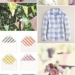Inspiration from Anywhere: Soft Gingham and Flowers