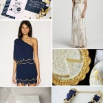 Inspiration from Anywhere...Navy & Gold