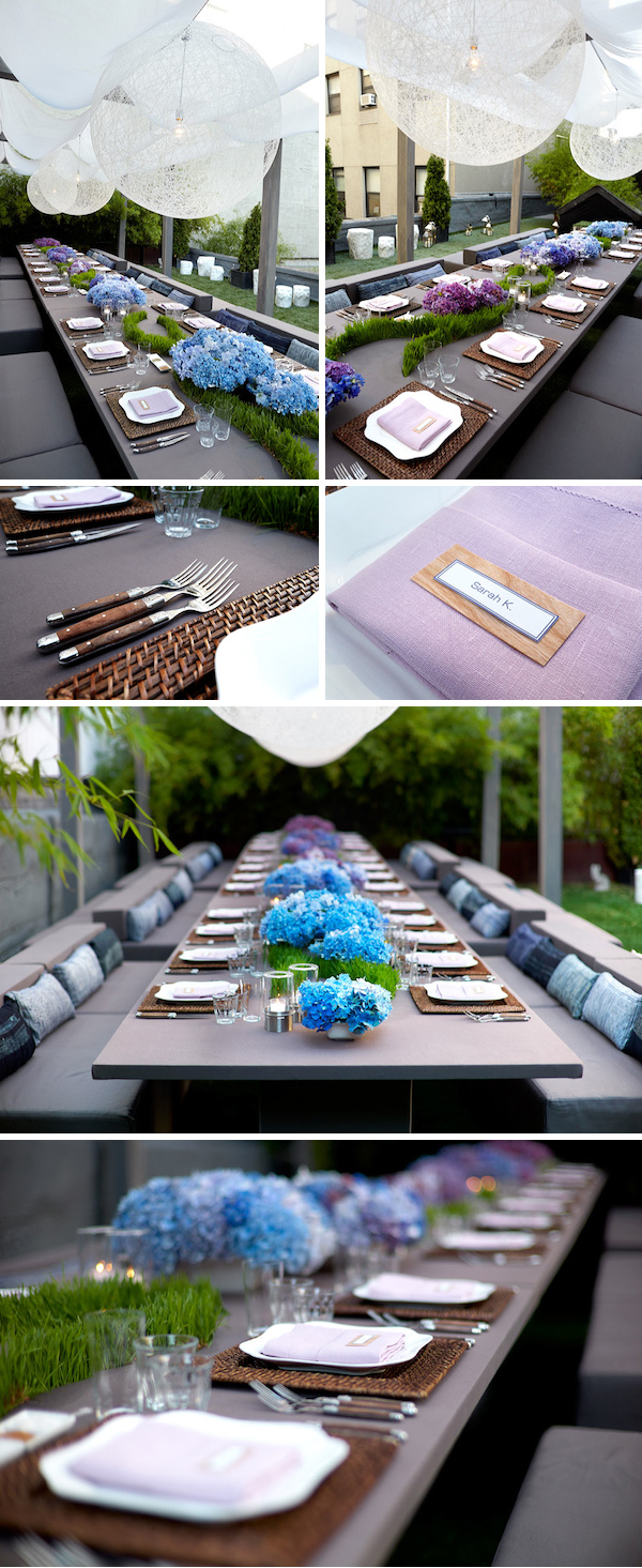 Wedding Wednesday    A Summer Rooftop Soiree in NYC - True