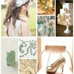 Inspiration from Anywhere... Cream, Gold & Teal