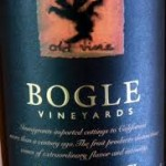 Friday Wine Tasting...Bogle Old Vine Zinfandel