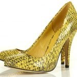 Tuesday Shoesday... A Pop of Snakeskin