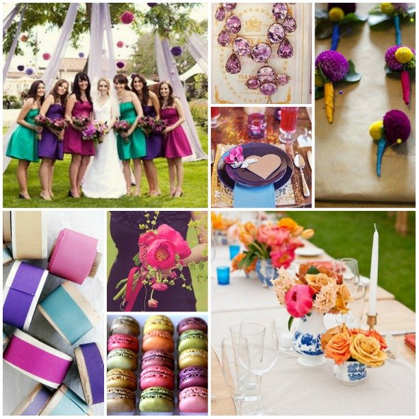 Inspiration from Anywhere… Jewel Tones | True Event | Event Design