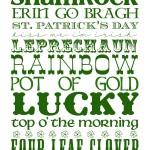 Friday Wine Tasting... Kiss me I'm Irish