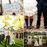 Wedding Wednesday... Rainy Day Details