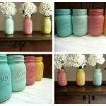 Wedding Wednesday... Beach Blues Mason Jars