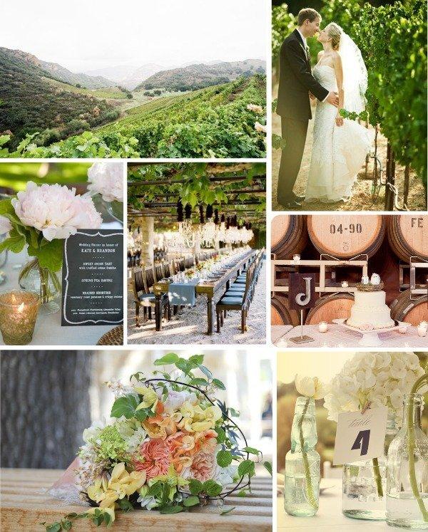 Inspiration From Anywhere... Vineyard Wedding