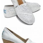 Tuesday Shoesday... TOMS Bridal