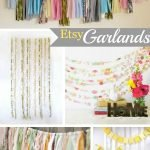 Wedding Wednesday... Etsy Garlands