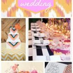 Wedding Wednesday... Ikat Wedding