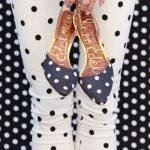 Tuesday Shoesday... Polka Dot Me