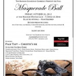 Coffee Talk Monday...Masquerade Ball!