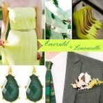 Inspiration from Anywhere... Emerald and Limoncello