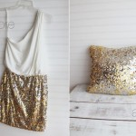 Coffee Talk Monday.. DIY Sequin Pillows!