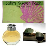 Coffee Talk Monday...Whats in Caitlin's beach bag!