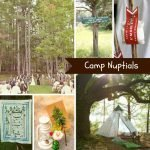 Inspiration from Anywhere... Camp Nuptials