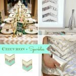 Inspiration from Anywhere... Chevron + Sparkles