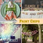 Wedding Wednesday... Paint Chips