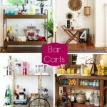 Inspiration from Anywhere... Bar Carts