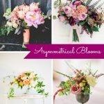 Wedding Wednesday... Asymmetrical Blooms