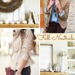 Inspiration from Anywhere... Fall Neutrals