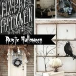 Inspiration from Anywhere... Rustic Halloween