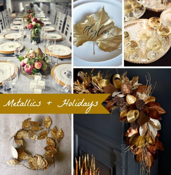 Metallic + Holidays