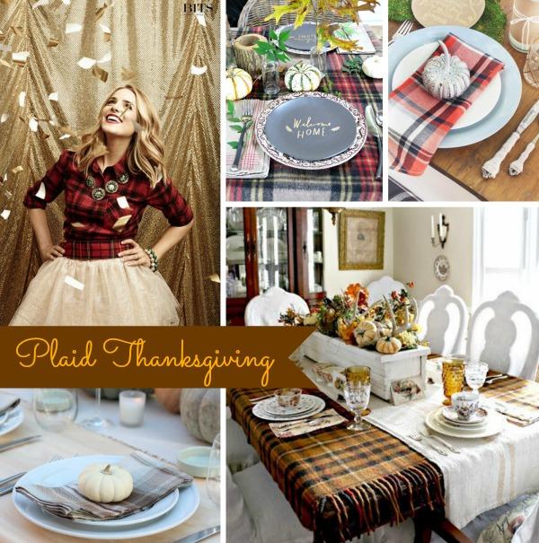Plaid Thanksgiving Board