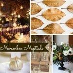 Wedding Wednesday... November Nuptials