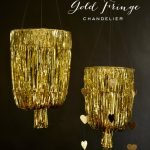 Coffee Talk Monday...DIY Gold Chandelier!