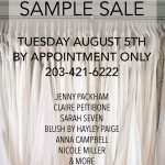Wedding Wednesday....Everthine Sample Sale!