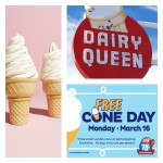 Coffee Talk Monday... Dairy Queen Free Ice Cone Day!