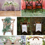 Wedding Wednesday...Bride and Groom Chairs!
