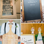 Wedding Wednesday...Creative Wedding Signage!