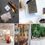 Wedding Wednesday...Fall + Winter Wedding Favors!
