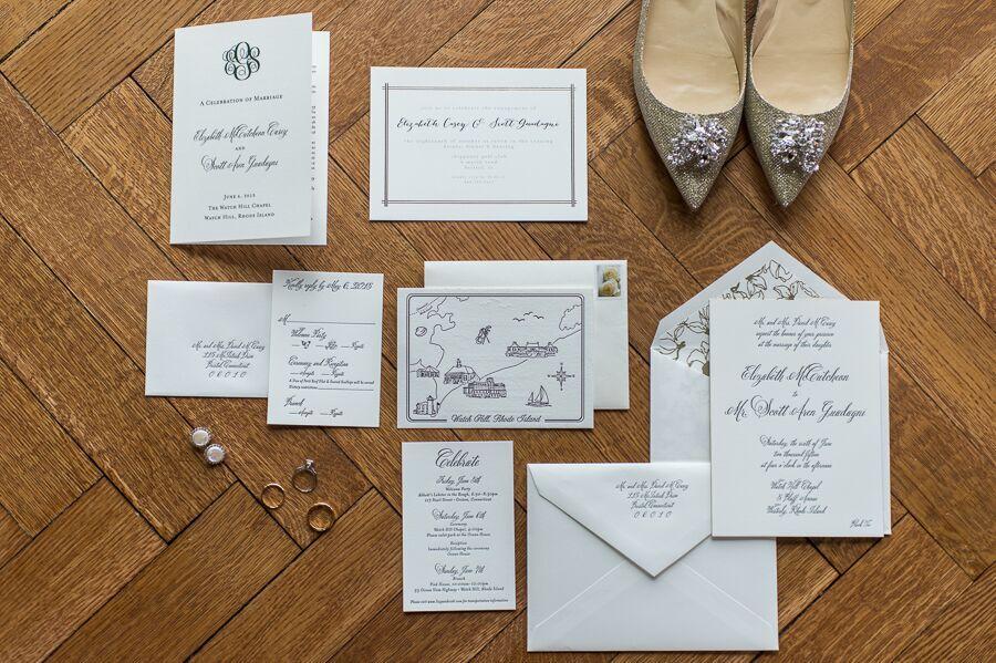 True Event- Wedding Wednesdays- Lizzy & Scott- Ocean House- Paper Moss- Paper Suite- Leila Brewster Photography-Massachusetts Wedding Planner