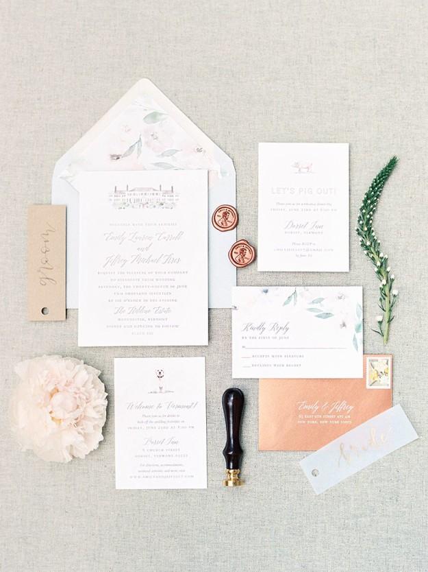 Hildene Estate Wedding by Michelle Lange Photography-3